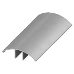 Профиль-заглушка декоративная 3м РС40 алюминий (30)