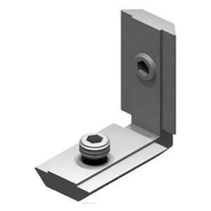 Соединитель угловой JA1 цинк (50)