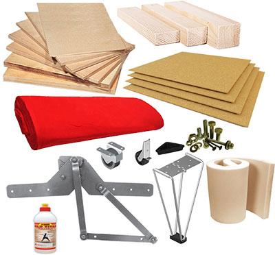 материалы и фурнитура для изготовления мягкой мебели
