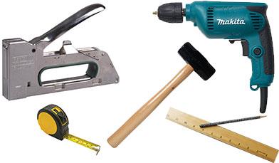 инструменты для изготовления дивана