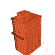 Каминопечь двухконтурная с теплоотдачей до 4,6 кВт. Подойдёт для отопления дома до 70 м2