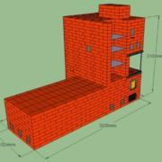 Отопительно-варочная печь с лежанкой и открытым камином. Теплоотдача печи до 7 кВт. Подойдёт для отопления дома до 90 м2.