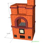 Проект: Отопительно-варочная печь №5