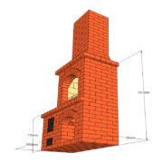 Проект: Уличная печь №3