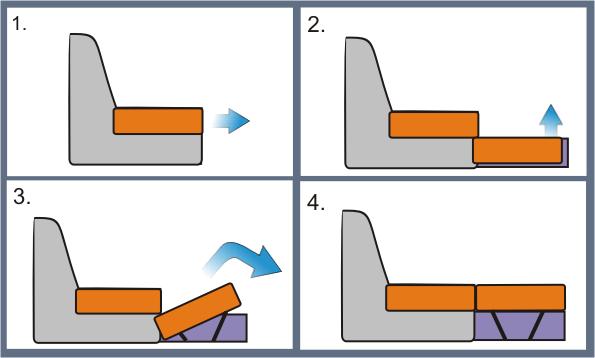 Механизм трансформации Дельфин