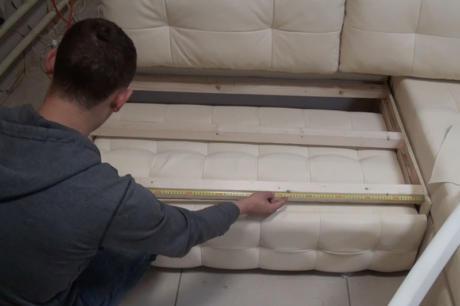 Сидушка основания дивана
