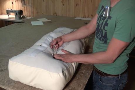 Изготовление подушек