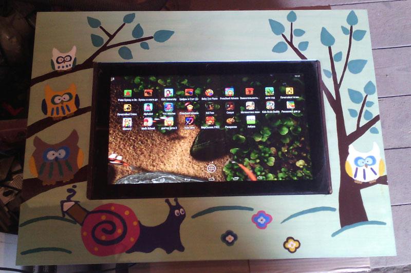 Интерактивный столик для дошколёнка