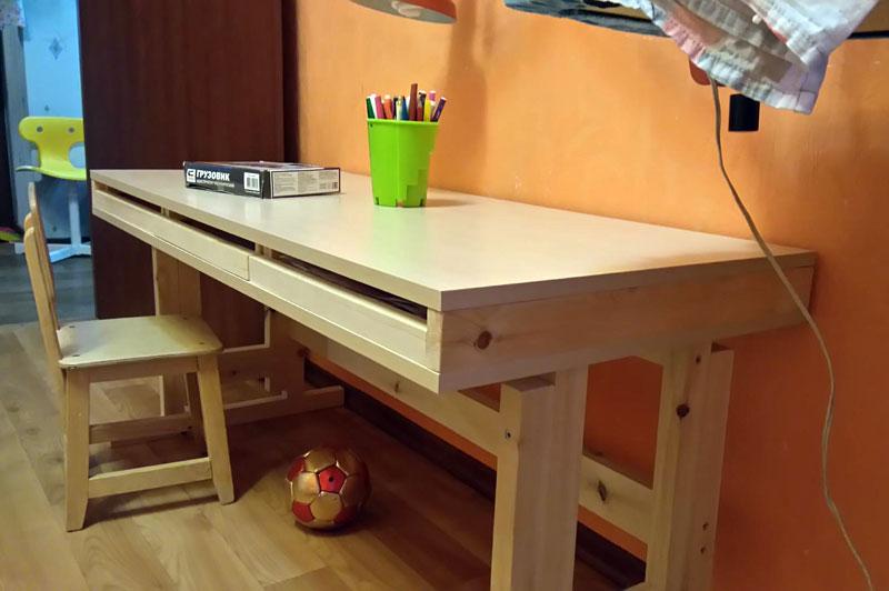 стол с регулировкой высоты