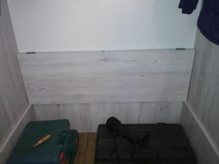 Первый шкаф своими руками