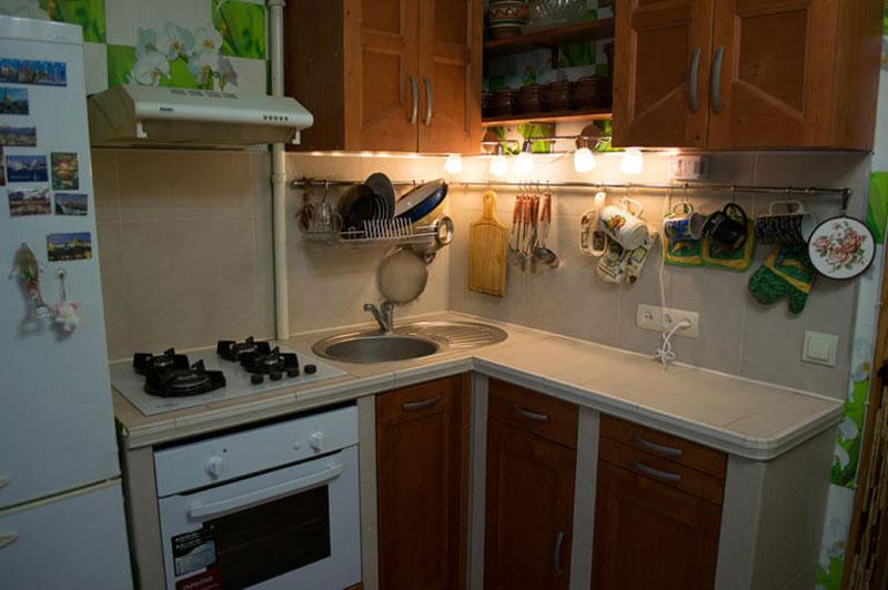 Очень бюджетный кухонный гарнитур
