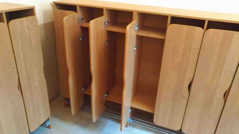 Шкафы в детский садик