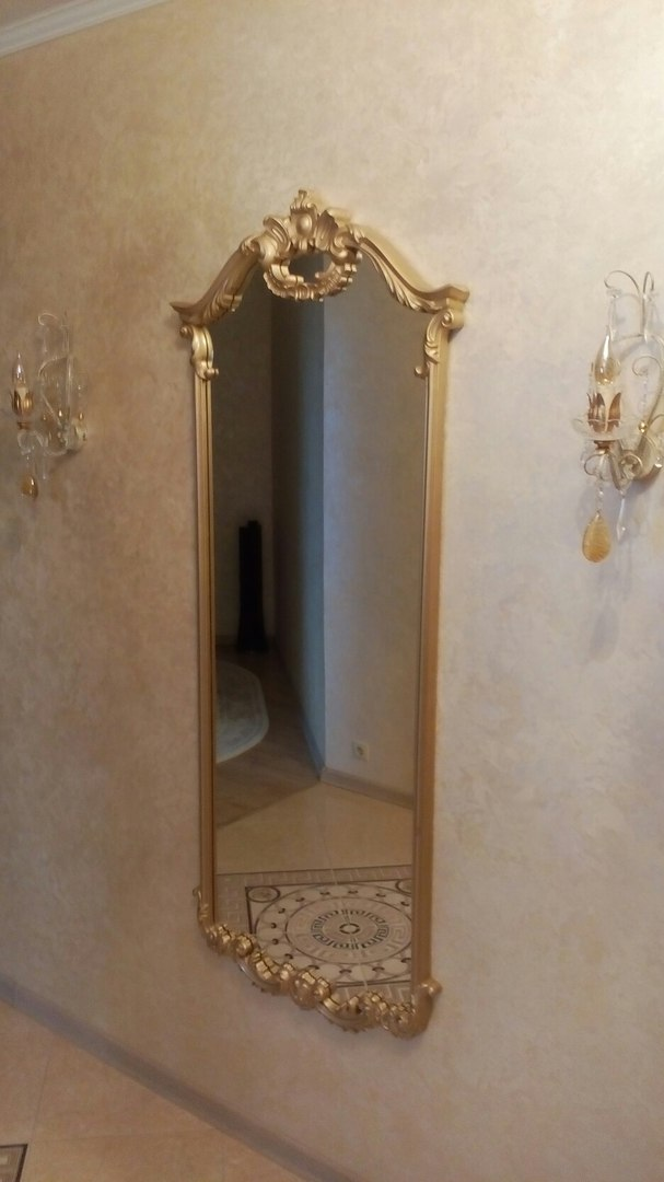 Зеркало из дуба