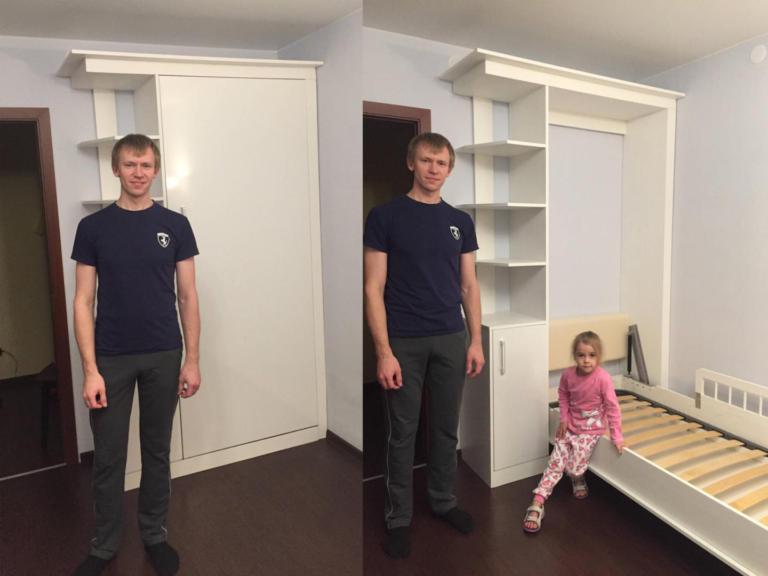 Шкаф-кровать для дочки