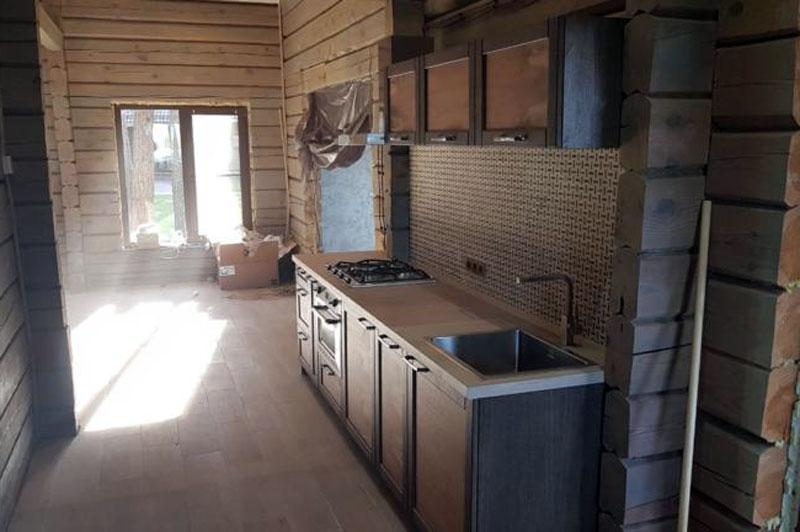 Кухня в Баню для моего товарища