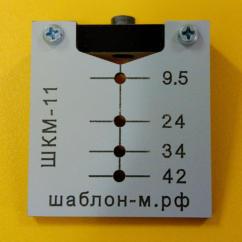 Шаблон кондуктор для эксцентриковых стяжек