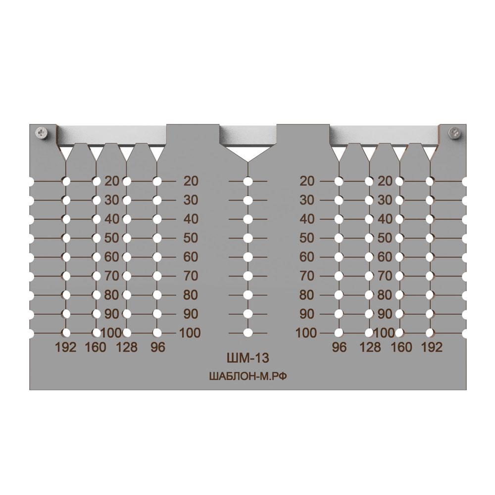 Мебельный шаблон для ручек своими руками 52
